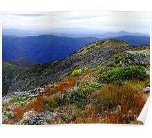 Summer at Mount Buller Victoria Poster