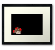 """The Snuggle Bears...."" Framed Print"