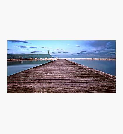 Down the Boardwalk Photographic Print
