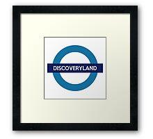 Discoveryland Line Framed Print