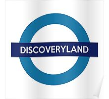 Discoveryland Line Poster