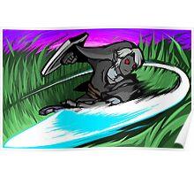 Dark Link   Sword Slash Poster