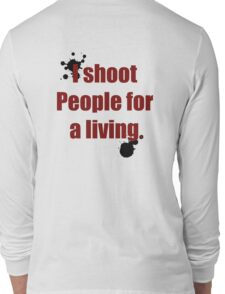 Photographer Shirts Long Sleeve T-Shirt