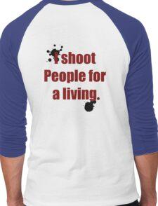 Photographer Shirts Men's Baseball ¾ T-Shirt