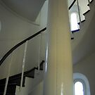Lighthouse Staircase by waxyfrog