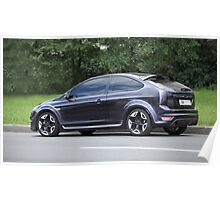 street racing car  Ford Poster