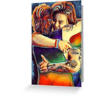 The hug Greeting Card