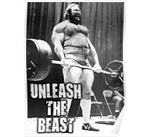 Unleash The Beast - Deadlift Poster