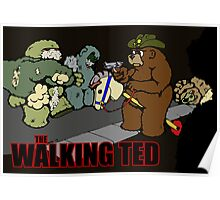 The Walking Ted - poster Poster