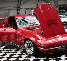 Red Corvette by George Benedek