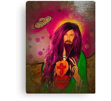 Keanu Jesus Antique Oil Canvas Print