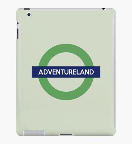 Adventureland Line iPad Case/Skin