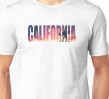 Vintage Filtered California Postcard Unisex T-Shirt