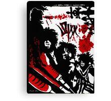 Sixx Canvas Print