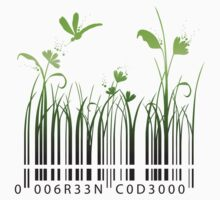 Green Barcode by elenab