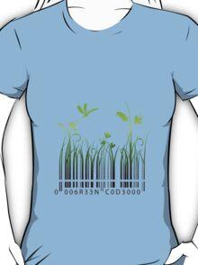 Green Barcode T-Shirt