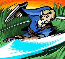 Link | Sword Slash by ishmam
