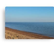 Restful empty beach Canvas Print