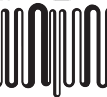 Electric barcode Sticker