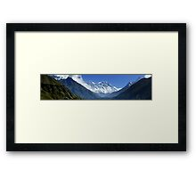 Everest Base Camp Trek Framed Print