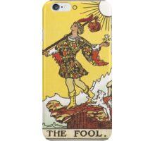 Tarot - The Fool iPhone Case/Skin