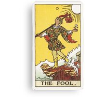 Tarot - The Fool Canvas Print