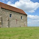 St Peter's Chapel Bradwell Essex by Pauws99