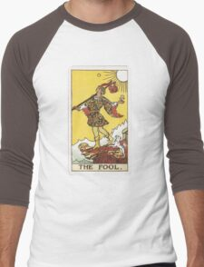 Tarot - The Fool Men's Baseball ¾ T-Shirt