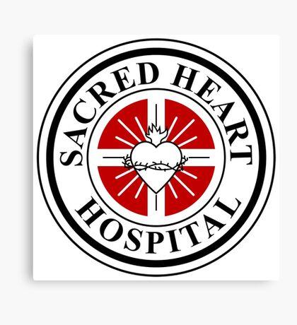 Sacred Heart Hospital Canvas Print