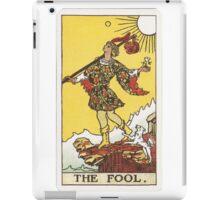 Tarot - The Fool iPad Case/Skin