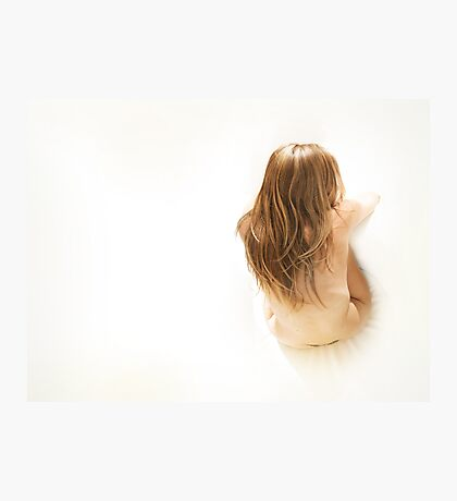 Beautiful young attractive nude caucasian woman Photographic Print