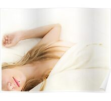 Beautiful young attractive nude caucasian woman Poster