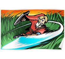 Link | Sword Slash Poster