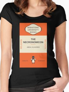 Necronomicon? Women's Fitted Scoop T-Shirt