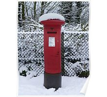 Mailbox in the Snow Poster