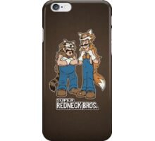 Super Redneck Bros. iPhone Case/Skin