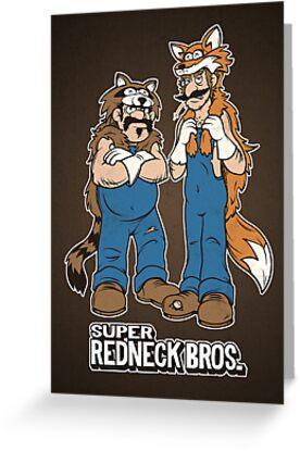Super Redneck Bros. by powerpig