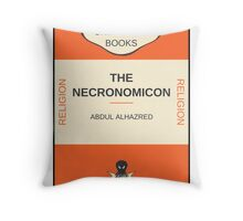 Necronomicon? Throw Pillow