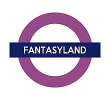 Fantasyland Line Photographic Print