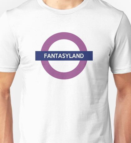 Fantasyland Line Unisex T-Shirt