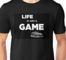 Life is just a game, ps4 camo pad popart Unisex T-Shirt