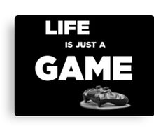 Life is just a game, ps4 camo pad popart Canvas Print