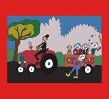 Tractor load of clowns One Piece - Long Sleeve