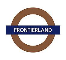 Frontierland Line Photographic Print