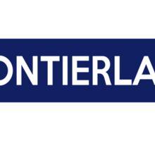 Frontierland Line Sticker