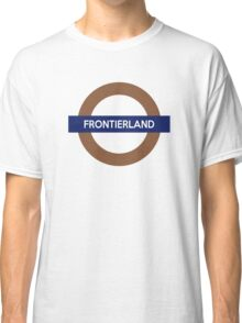 Frontierland Line Classic T-Shirt