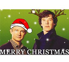 Sherlock Holmes merry Christmas merchandise  by Katie358