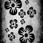 Black Flowers by Paula J James