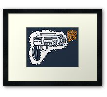 Music Machine Gun Framed Print