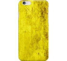 Yellow Grunge iPhone Case/Skin